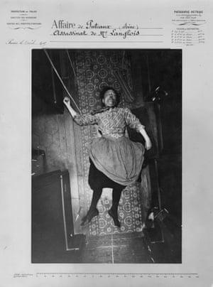 Death vision ... Alphonse Bertillon's Murder of Madame Langlois, 5 April 1905.