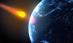 The asteroid that hit Earth 65m years ago and led to the extinction of dinosaurs also caused a doubling of the intensity of volcanic eruptions.
