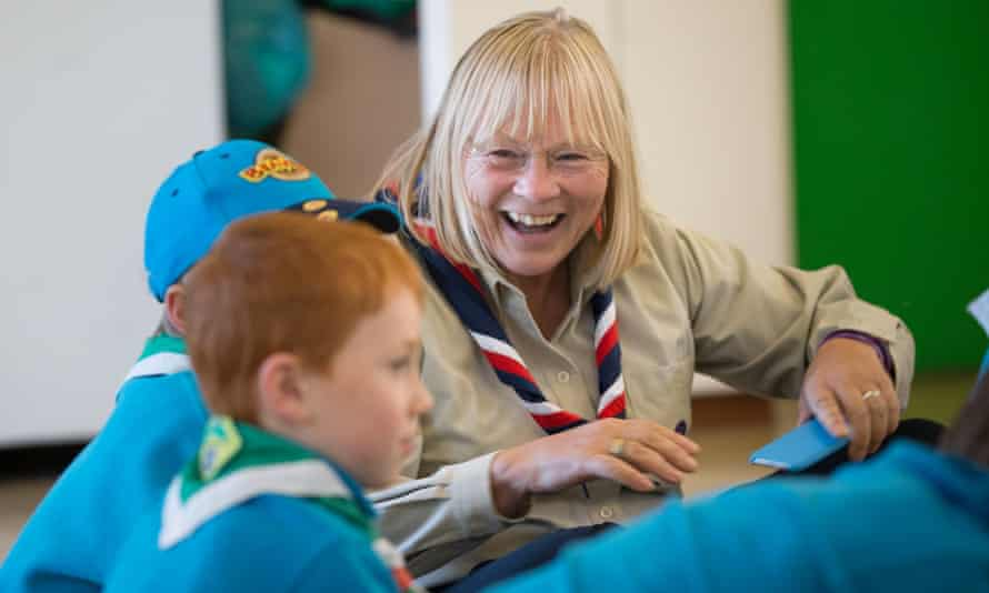 Ann Limb, the Scouting Association's first female leader,