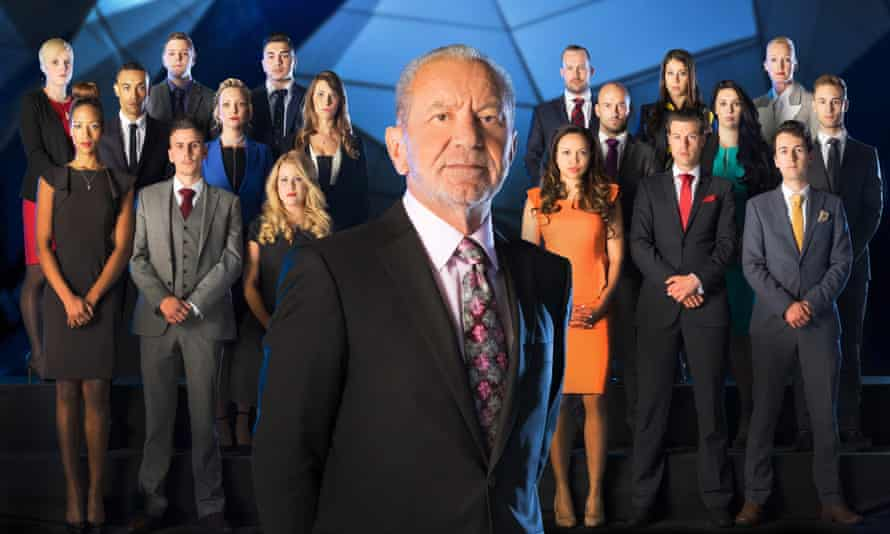 Lord Sugar and this year's Apprentice intake