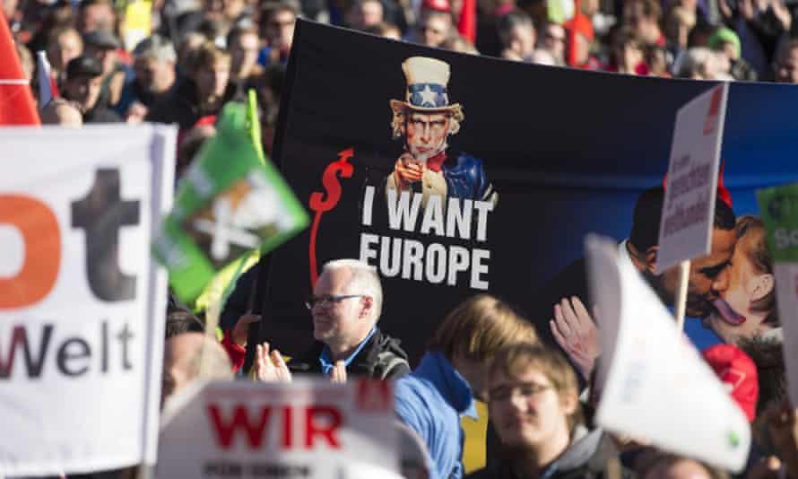 Protesters Berlin