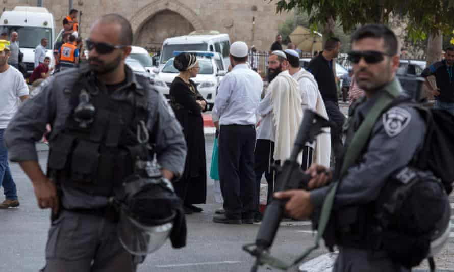 Israel riot police