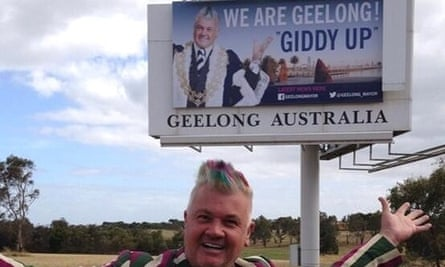 Giddy Up Darryn Lyons Geelong Needs More Than A Mayor On A Bender Geelong The Guardian