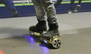 'Hoverboards' (aka self-balancing scooters) aren't legal to ride on public streets, according to the CPS.