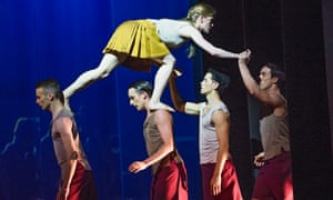 For women in dance, success can be a precarious journey … Rambert in Terra Incognita by Shobana Jeyasingh.