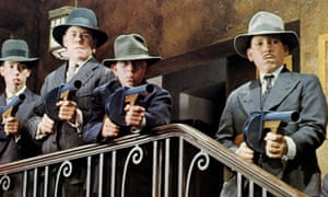 'They were loud and pretty dangerous' … the splurge guns.