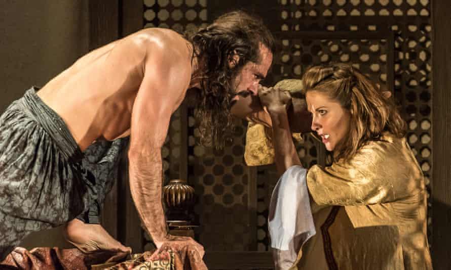 Franck Saurel as Pasha Selim and Ana Maria Labin as Konstanze in Glyndebourne's touring Die Entführung aus dem Serail
