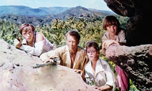 Scene from Swiss Family Robinson