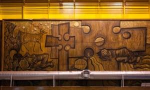 In praise of renewable energy … Elizabeth Falconer's mural.