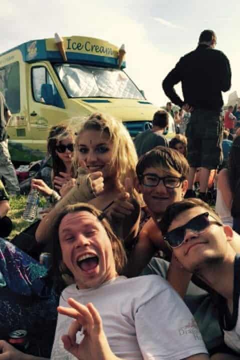 Lauri Love with friends in Cambridge, June 2015