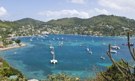 Bequia in the West Indies