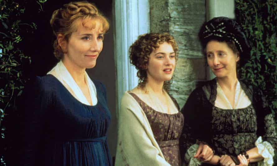 Elinor (Emma Thompson, on the left) is 'a product of the prudent control of sensibility'.