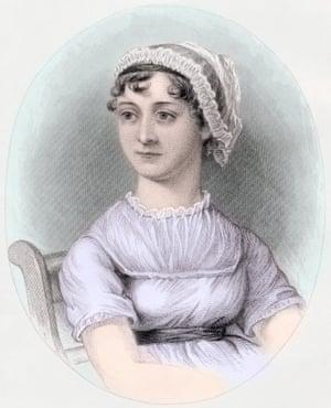 Jane Austen, after a watercolor by Cassandra Austen