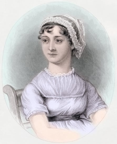 Jane Austen, after a watercolor by Cassandra Austen