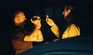Louis Theroux films a Scientology member filming him in My Scientology Movie