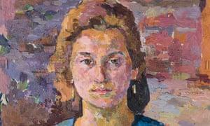 Detail of Ottilia by Alberto Giacometti, c1920