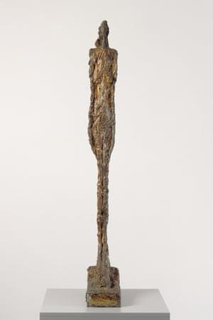 Woman of Venice VIII by Alberto Giacometti, 1956.