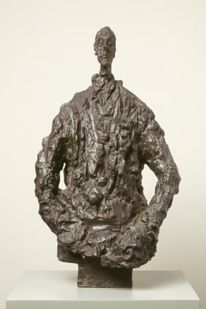 Diego in a sweater by Alberto Giacometti, 1953.