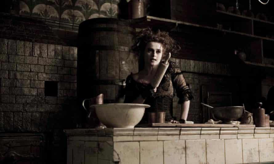 Helena Bonham Carter as Mrs Lovett