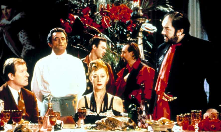 Film still from The Cook, the Thief, His Wife & Her Lover