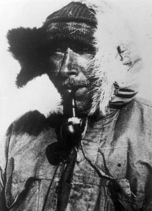 Wegener during his final expedition, 1930.