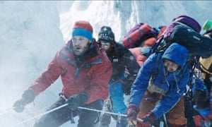 A scene from Everest