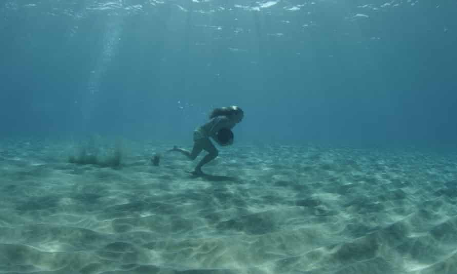 Underwater rock running: a training technique for big wave surfers.