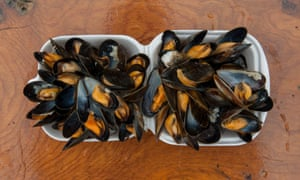 A word in your shell-like: mussels from Oban Seafood Hut.