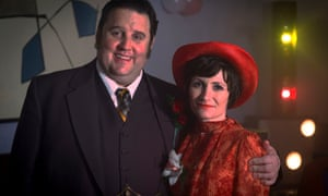 Peter Kay and Lucy Speed in Cradle to Grave.