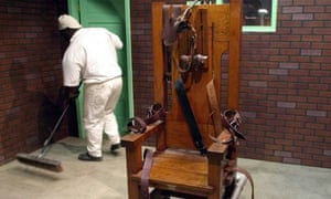 Texas Prison Museum, Huntsville, Texas, is now home to 'Old Sparky'.