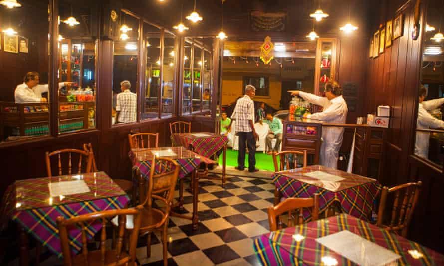 Inside Cafe Irani Chaii