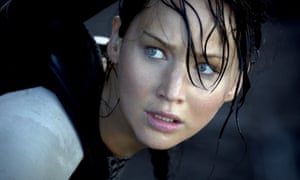 Katniss in The Hunger Games: filled with pure rage. And why not?