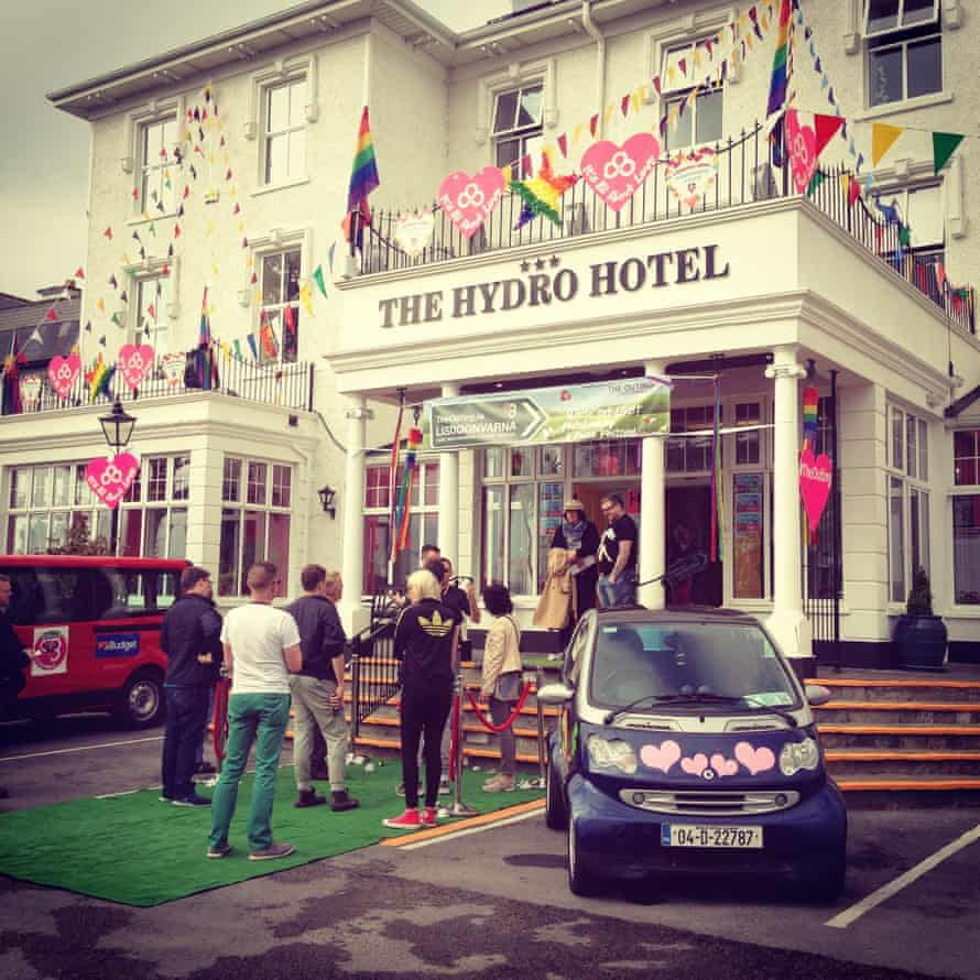 Hydro Hotel, main venue for The Outing Festival, Ireland