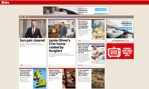 The Sun website has now slipped below Express.co.uk in terms of traffic