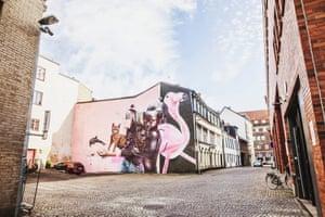 Street art, Helsingborg, Sweden