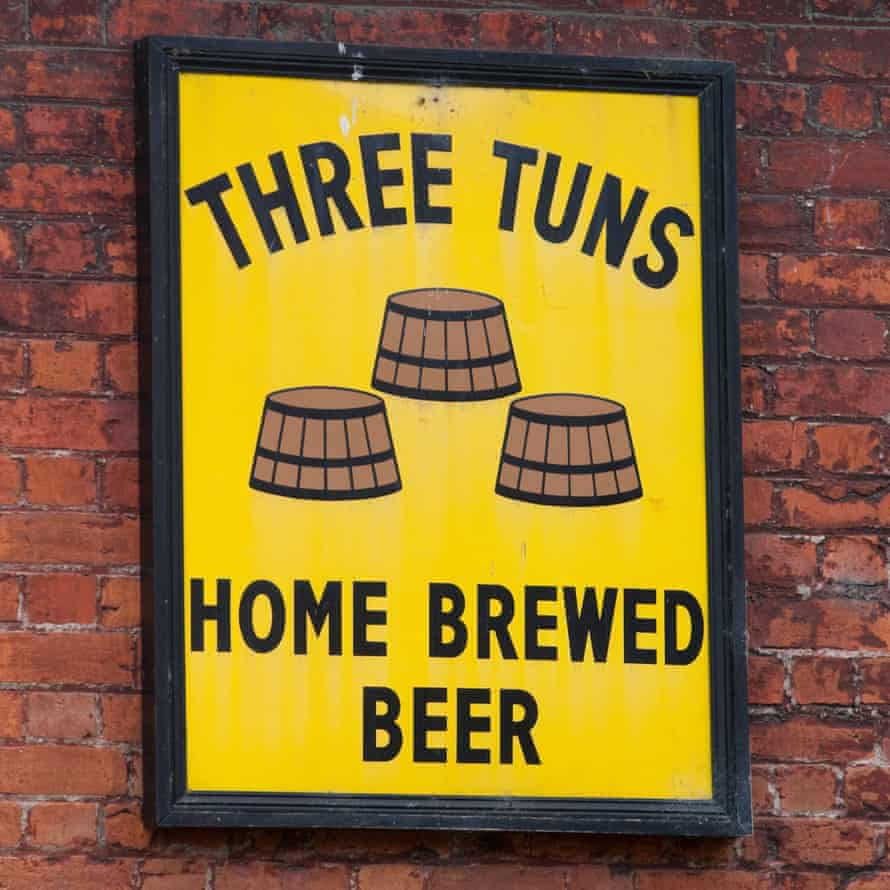 Three Tuns brewery, Bishops Castle.