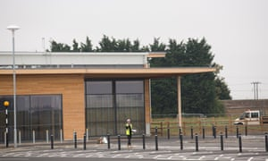 The mothballed Tesco superstore development at Chatteris, near Ely in Cambridgeshire