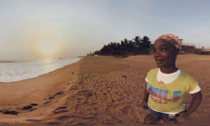 Waves of Grace is a virtual reality film telling an Ebola survivor's story.