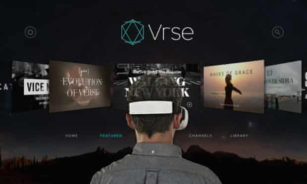 Vrse has made a series of virtual-reality films.