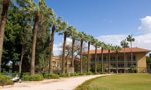 The American University campus in Beirut.