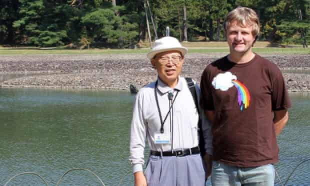 Mr Okada with Jamie