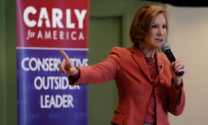 Carly Fiorina had a solid fundraising quarter.