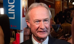 Lincoln Chafee's fundraising has been dwarfed by his competitors'.