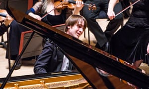 Daniil Trifonov with the Philharmonia Orchestra at the Royal Festival Hall this month.