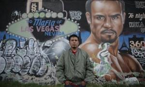 Graffiti artist Koka Lep began his career at one of the Deportivo's early expos.