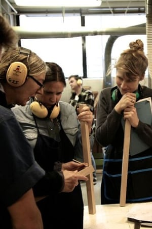 Students in a Cass workshop