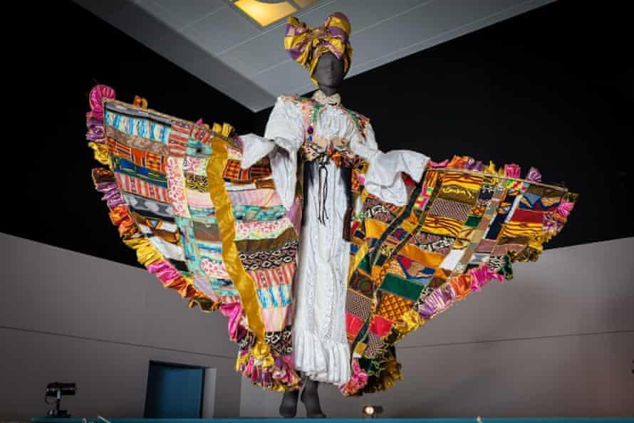 Bele carnival costume designed by Ray Mahabir.
