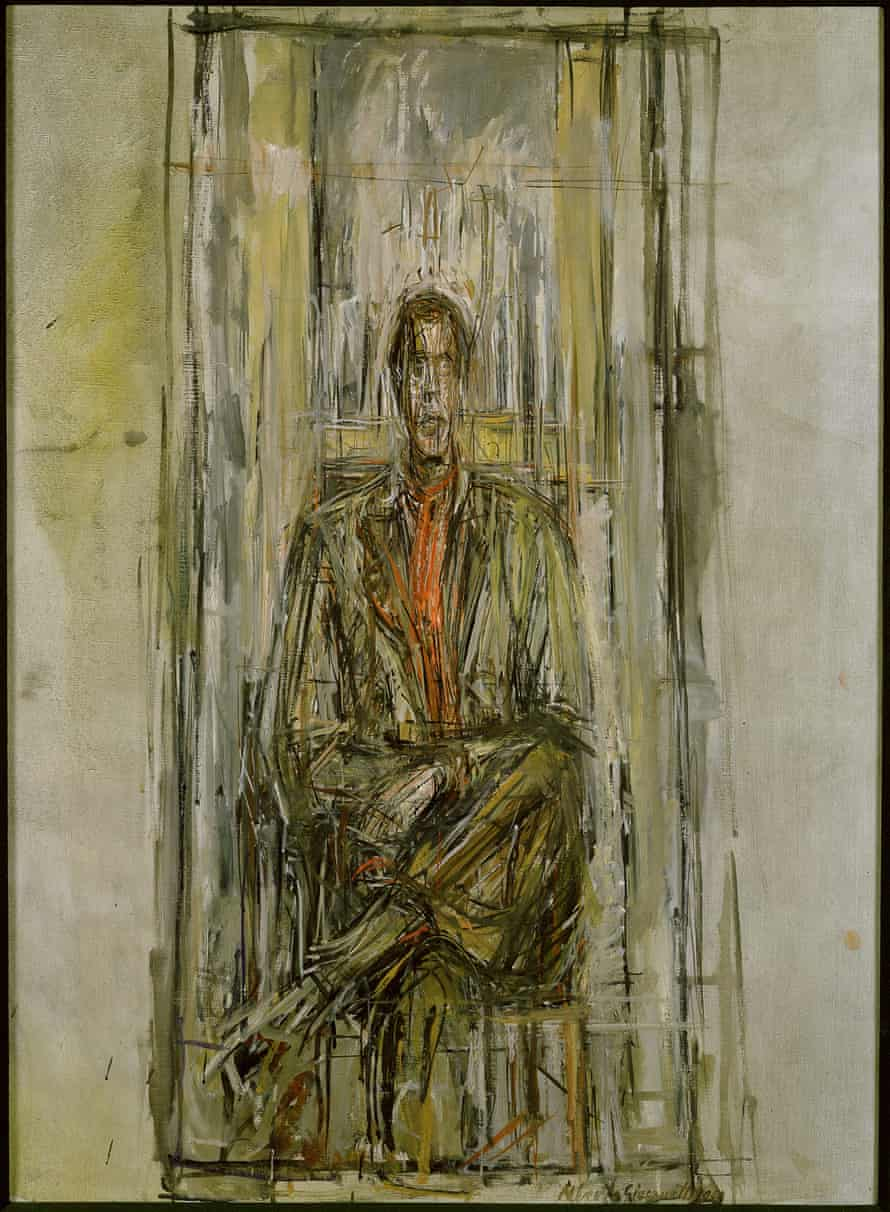 Diego Seated by Alberto Giacometti, 1948;