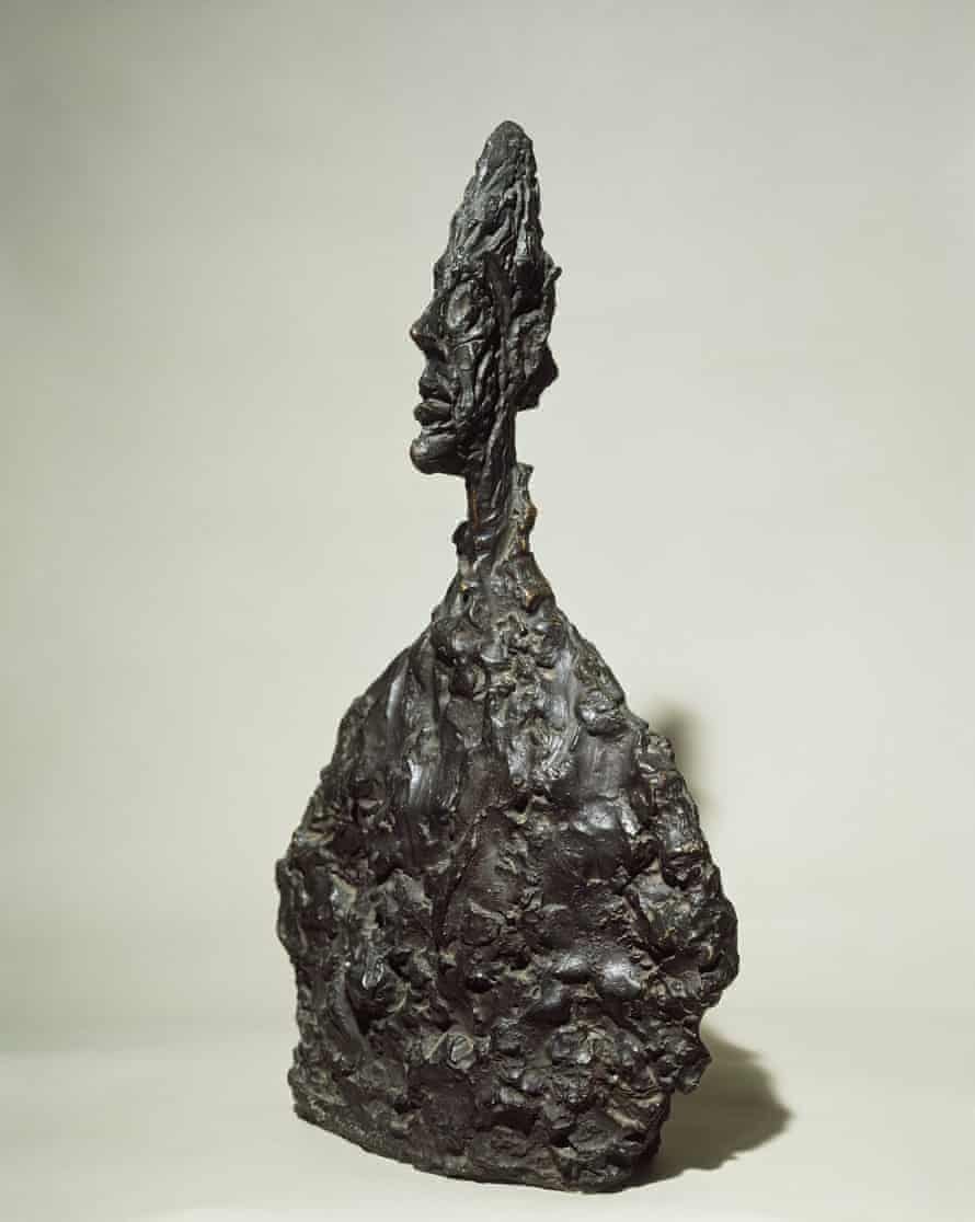 Bust of Diego, 1955 by Giacometti.