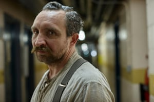 'Hauntingly toxic': Eddie Marsan in River.